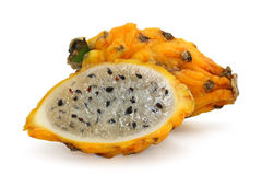 Yellow pitahaya Royalty Free Stock Photography