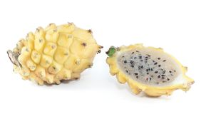 Yellow Pitaya from South America Stock Images