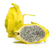 Yellow Pithaya Royalty Free Stock Photography