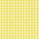 Yellow Plaid Design Royalty Free Stock Photography
