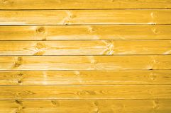 Yellow planks background. Summer concept Stock Image