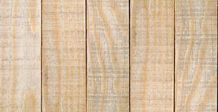 Yellow Planks Wood Texture Royalty Free Stock Photography