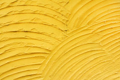 Yellow plaster texture close up. For background royalty free stock photo