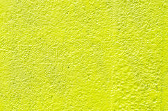 Yellow plaster wall background Royalty Free Stock Image