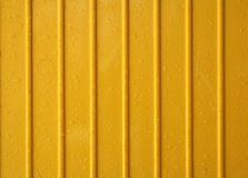 Yellow plastic Royalty Free Stock Photography