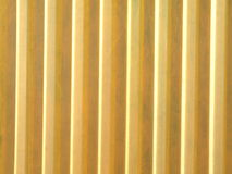 Yellow plastic abstract Royalty Free Stock Photos