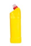 Yellow plastic blank bottle Stock Photo