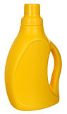 Yellow plastic bottle Royalty Free Stock Photos