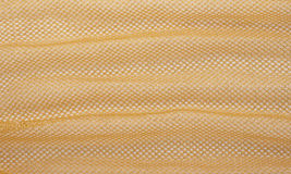 Yellow Plastic Fabric Royalty Free Stock Image