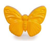 Yellow plastic molding sand Royalty Free Stock Photos
