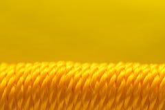 Yellow Plastic Rope Royalty Free Stock Photos