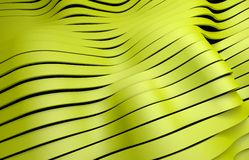 Yellow plastic stripes background Royalty Free Stock Images