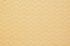 Yellow plastic surface Stock Images