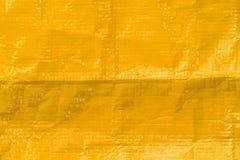 Yellow plastic texture Royalty Free Stock Image