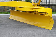 Yellow plow Royalty Free Stock Photography