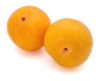 Yellow plum Royalty Free Stock Photos