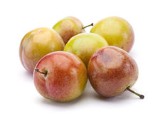 Yellow plum fruit Royalty Free Stock Image