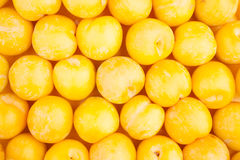 Yellow plum texture Royalty Free Stock Image