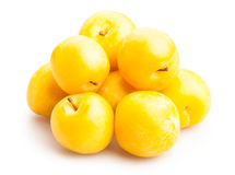 Yellow plum Royalty Free Stock Photography