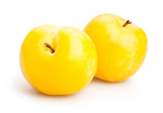 Yellow plum Stock Image