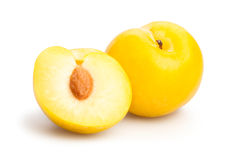 Yellow plum Stock Photo