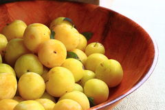 Yellow Plum Royalty Free Stock Image