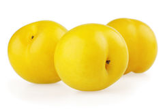 Yellow plums Royalty Free Stock Images