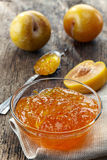 Yellow Plums Jam Royalty Free Stock Photos