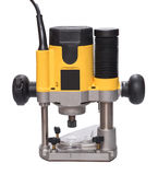Yellow plunge router. royalty free stock photography