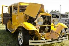 Yellow Plymouth Stock Photo