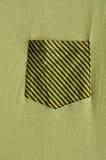 Yellow pocket Stock Photography