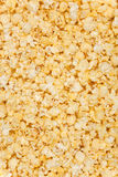 Yellow popcorn background Royalty Free Stock Image