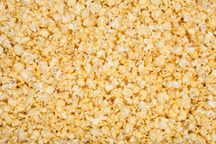Yellow popcorn background Stock Photography