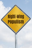 Yellow populism Stock Images
