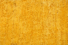 Yellow porous wall Stock Images