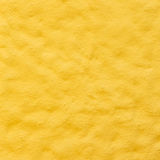 Yellow porous wall Royalty Free Stock Photo