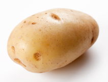 Yellow potato Royalty Free Stock Image