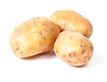 Yellow potato group Royalty Free Stock Photo
