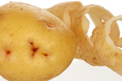 Yellow potato Royalty Free Stock Photography