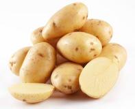 Yellow potatoes Stock Photography