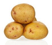 Yellow potatoes Royalty Free Stock Photos