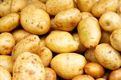 Yellow potatoes Royalty Free Stock Photos