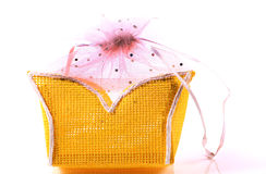 Yellow pouch Stock Image