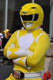 Yellow Power Ranger Royalty Free Stock Photos