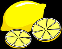 Yellow, Produce, Fruit, Font Stock Photography