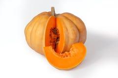 Yellow pumpkin Stock Images