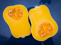 Yellow pumpkin Stock Photo