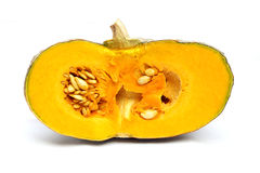 Yellow pumpkin Royalty Free Stock Photo