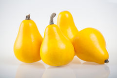 Yellow pumpkins, gourds Royalty Free Stock Images