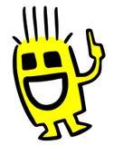 Yellow puppet Stock Photo